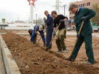 В Астрахани завершается благоустройство «юбилейных» объектов