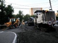 Мэрия ремонтирует городские улицы с применением новых технологий