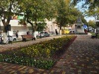 Сегодня в  Астрахани после реконструкции открылся сквер им. А. Е. Трусова