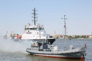 В Астрахани отмечают День Военно-морского флота