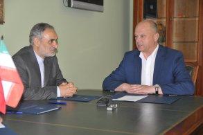 Олег Полумордвинов встретился с новым генеральным консулом Исламской Республики Иран
