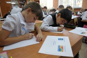 Астраханские школьники готовятся к акции «Письмо водителю»