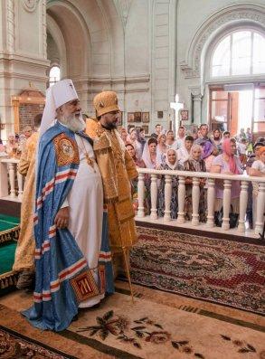 Митрополит Астраханский и Камызякский Иона отметил день тезоименитства