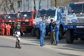 Астрахань приветствует участников ралли-рейда «Золото Кагана-2015»