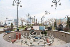 Городские фонтаны «просыпаются» после зимы